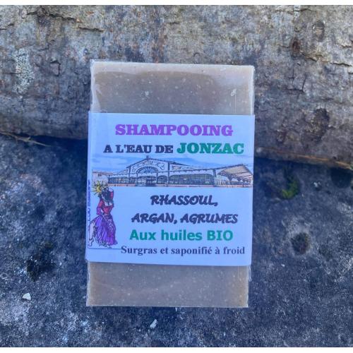 Shampooing aux agrumes et à l'argan